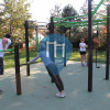 Ostrava - Outdoor Fitness Park - Komenskeho sady