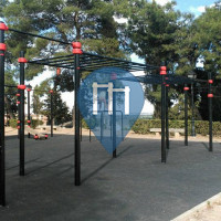 Toledo - Parque Street Workout - Parque de Sisebuto