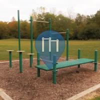 Columbus - Street Workout Park - Three Creeks Metro Park