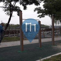 Сучжоу - уличных спорт площадка - Waicheng River