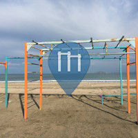 Burgas - Parque Calistenia - Централен Плаж