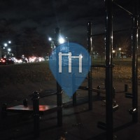 New York City - Outdoor Fitness Station - Leif Ericson Park