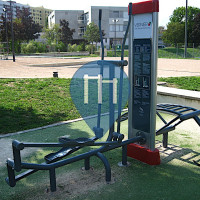 Le Lignon - Outdoor Gym - Installations in the Stade des Libellules