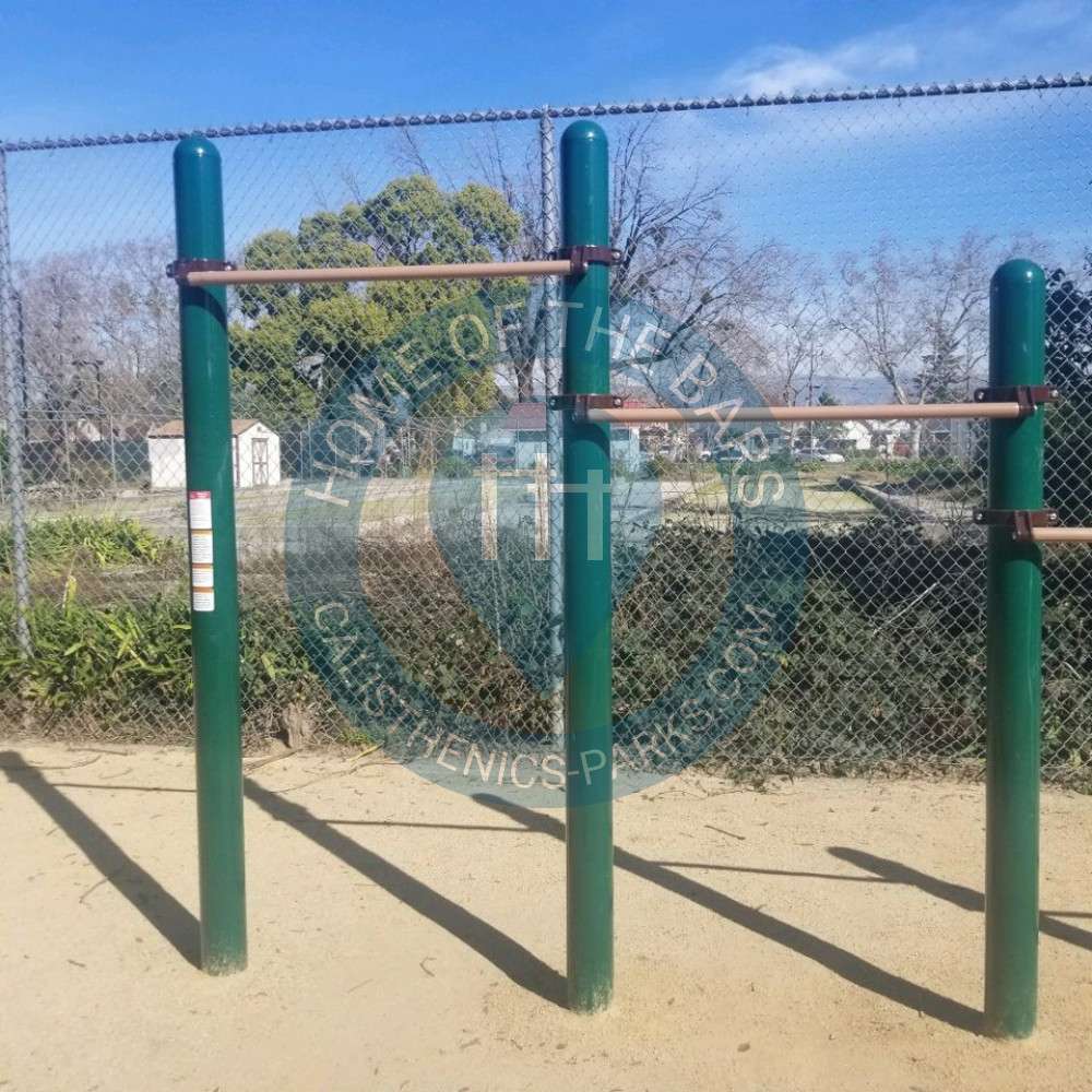 Warriors Path State Park Playground: Outdoor Pull Up Bars