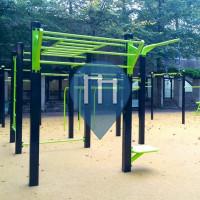 París - Parque Calistenia - Parc de Bercy