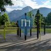 Barras dominadas - Dobbiaco - Outdoor Fitness  Toblach/Dobbiaco