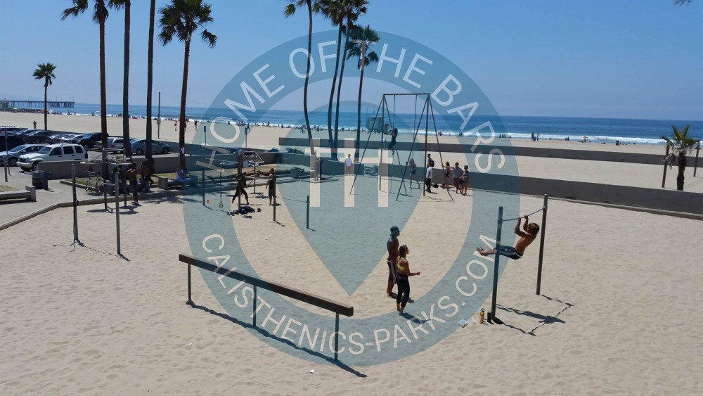 Santa Monica Outdoor Exercise Gym Muscle Beach Venice