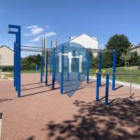 Воркаут площадка - Штольберг - Calisthenics Park Stolberg