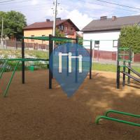 Катовице - Воркаут площадка - Kostuchna