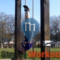 Leipzig - Street Workout Park at Schreberpark