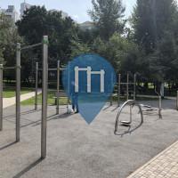Москва - Спортивный комплекс под открытым небом - Taganski