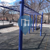 New York City - Outdoor-Fitness-Anlage - Maria Hernandez Park, Bushwick, Brooklyn, NY