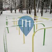 Moscow - Outdoor Fitness Stations - Kirovogradskaya ulitsa