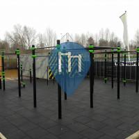 Bois-le-Duc - Parc Street Workout - Jongerencentrum De Poort