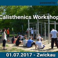 01.07.2017 14:00 – Zwickau Sportplatz Schedewitz – Calisthenics Workshop