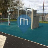 уличных спорт площадка - Глазго - Parkour park Glasgow