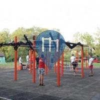 Jaworze - Street Workout Park - Flowparks
