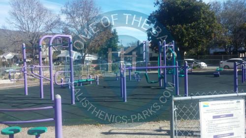 San Luis Obispo Calisthenics Equipment Emerson Park