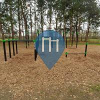 Deinze - Воркаут площадка - Brielmeersen Park