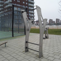 Heerhugowaard - Parcours Musculation - Pull Up Bar Rivierenwijk