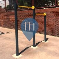 Palermo (Buenos Aires) - Street Workout Park - Avenida Luis María Campos