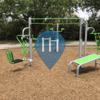 Pompano Beach - Calisthenics Stations - Hampton Pines Park