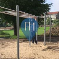 Динслакен - уличных спорт площадка - Hangpark Wehofen