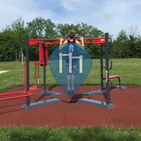 Mödling - Outdoor Workout Exercise Station - Freizeitgelände Gemeindeteich
