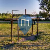Minneapolis - Outdoor Exercise Station - Lake Hiawatha Park