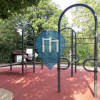 Huningue - Outdoor Exercise Park - Rue de Michelfelden