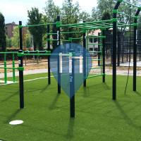 Utrecht - Calisthenics Park - Oosterspoorbaan Park