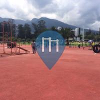 Quito - Воркаут площадка - La Carolina