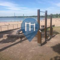 Espoo - Outdoor Pull Up Bars - Hietaranta Beach