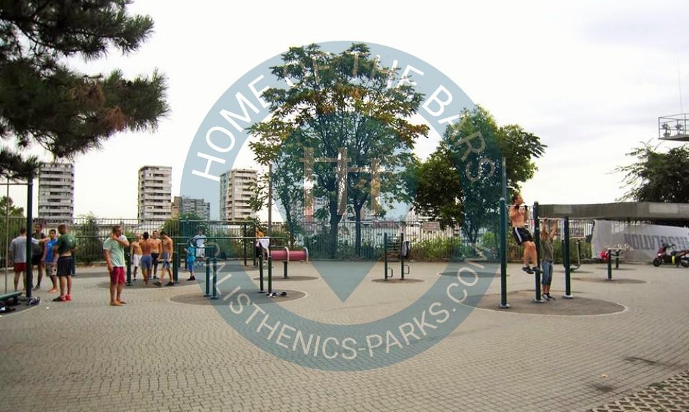 Belgrade Calisthenics Park Tasmajdan Park Serbia Spot