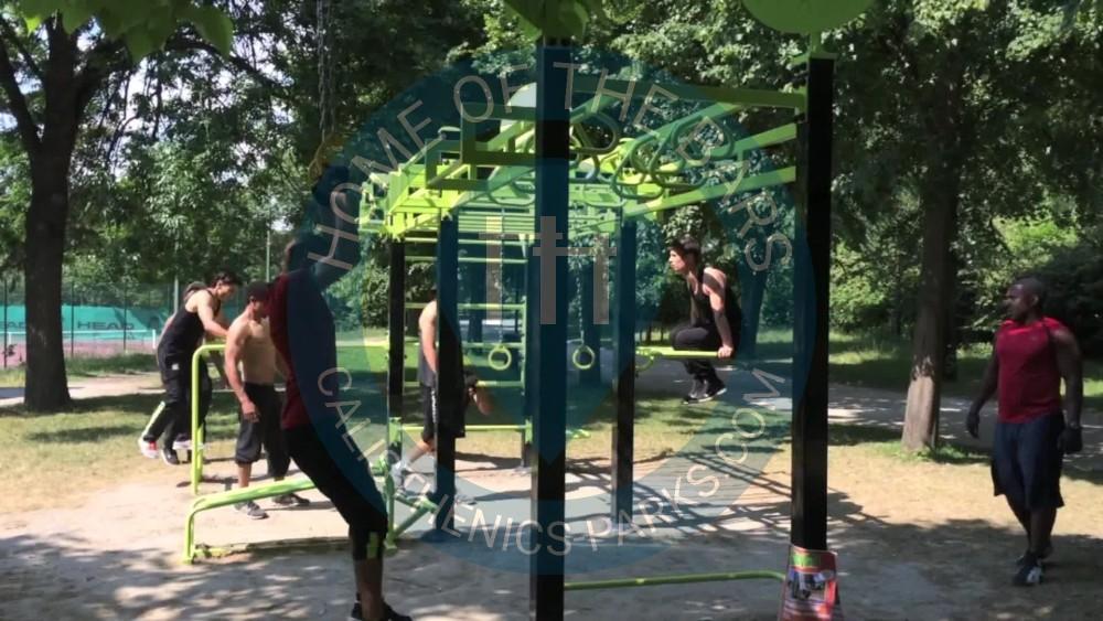 gennevilliers - parc street workout