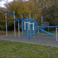 Kbely (Prague) - Street Workout Equipment - Centralni Park
