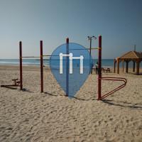 Tel Aviv - Outdoor-Fitness-Park - Frishman Beach