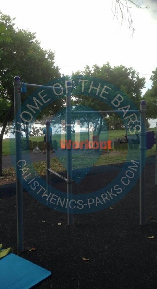 Buddina outdoor gym queensland australien spot