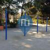 Tokyo - Barra per trazioni all'aperto - Suginami Kuritsu Myoshoji Park