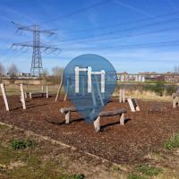 Amsterdam - Outdoor Fitness Park - Diemerpark