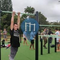 Barras de dominadas al aire libre - Numea - Workout de sainte marie