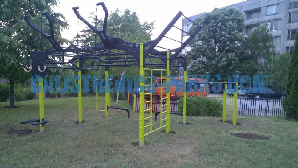 Iwajlowgrad - Street Workout Park - Titan Fitness - Bulgaria