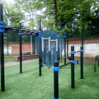 Outdoor Fitness Park - Brussels - Palais Outre-Ponts