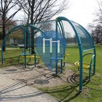 Langenhagen - Parque Calistenia - Schulzentrum