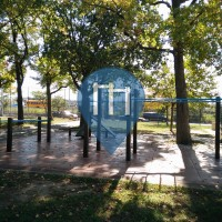 New York City - Calisthenics Gym - Frank Principe Park Fitness area
