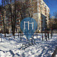 Moskau - Calisthenics Park - Peschanaya Street