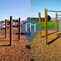 San Francisco - Outdoor Fitness Park - Fort Mason