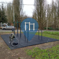 Brüssel - Calisthenics Geräte - Marais de Ganshoren