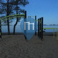 Эспоо - уличных спорт площадка, - Gäddviks strand