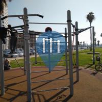 Tel Aviv - Outdoor Fitnessstation - Charles Clore Park